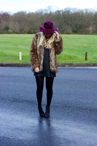 fur coat Missguided coat