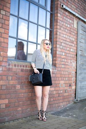 suede skirt Topshop skirt