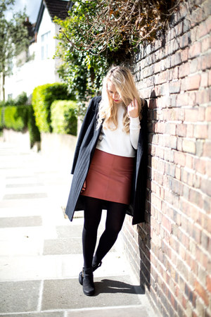 leather skirt Reiss skirt