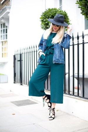 green Zara romper