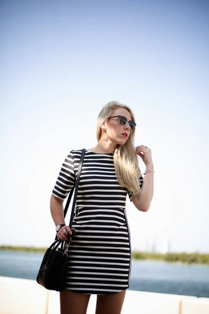 stipes Topshop dress