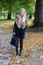 faux fur Missguided coat