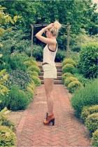 deina boots Missguided boots - mint knit Zara sweater - mint denim H&M shorts