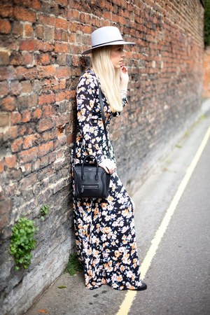 floral maxi Missguided dress