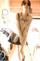 random from Bangkok dress - Boyy bag accessories - random from Bangkok necklace