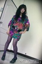 purple Cant remember dress