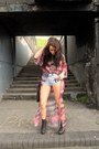 Topshop-boots-watercolour-unif-jacket-diy-shorts