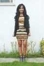 Gold-topshop-dress