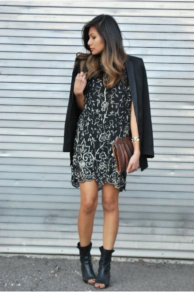 black Yumi Kim dress