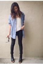 H&M blouse - Zara pants