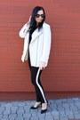 White-zara-coat-white-f-f-blazer-black-zara-heels-black-c-a-pants