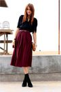 Vintage-blouse-red-vintage-skirt-black-jeffrey-campbell-shoes