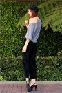 Black-thrift-pants-silver-piko-t-shirt-black-chinese-laundry-shoes