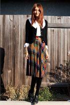 brown NOS Vintage skirt