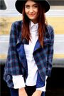 Blue-jet-coat-white-ted-baker-top-blue-cheap-monday-jeans
