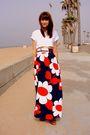 Blue-thrift-skirt