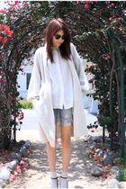 beige thrift sweater