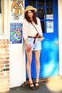 Blue-guess-shorts