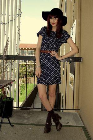 Orange Olive Thrift dress