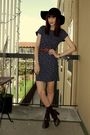 Orange-olive-thrift-dress