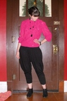 blouse - Wet Seal pants - thrifted boots
