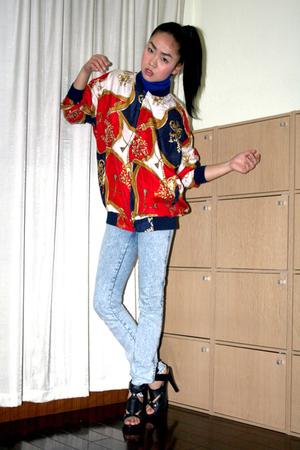 jacket - H&M jeans