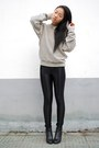 Stripe-american-apparel-jumper-american-apparel-pants