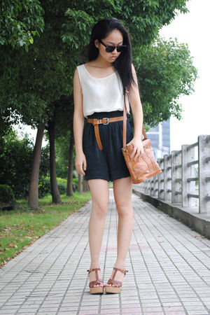 vest - shorts - H&M belt - bag