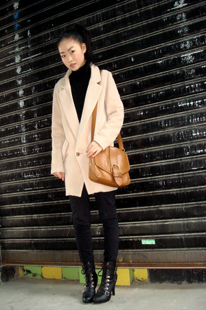 Miu Miu coat - American Apparel jeans - shoes