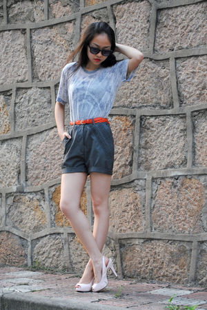 American Apparel shirt - shorts - shoes