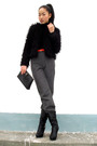 Black-jacket-pants-shoes-purse