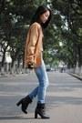 Zara-jeans-bronze-vintage-cardigan