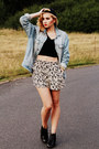 Black-jeffrey-campbell-shoes-light-blue-asos-jacket-tan-asos-shorts