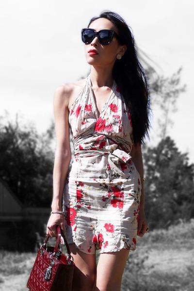 Ruby-red-floral-kookai-dress-brick-red-lady-dior-christian-dior-bag_400