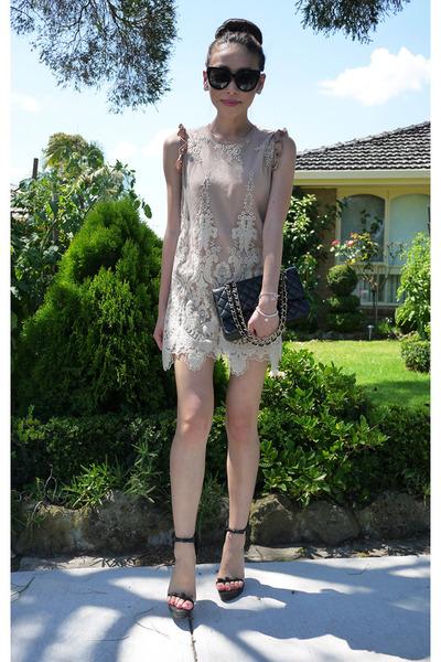 storets dress - Chanel bag - Celine sunglasses - 31 Phillip Lim sandals