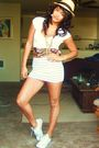 White-h-m-skirt-white-wetseal-shirt-white-converse-shoes-black-goodwill-sc