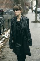 black wwwzaracom Zara jacket - black wwwzaracom Zara boots