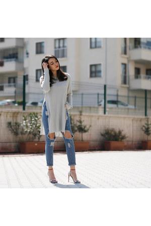 romwe sweater - romwe jeans