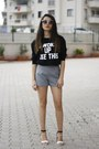 Romwe-shorts-zerouv-sunglasses-sheinside-sweatshirt