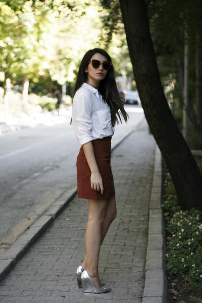 baca2bf6df96c Mango shirt - romwe sunglasses - zeroUV sunglasses