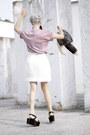 Black-plastic-basket-h-m-divided-bag-light-pink-hairless-cat-dedoles-t-shirt