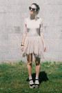 Cream-asymmetrical-h-m-skirt-silver-silver-h-m-trend-socks