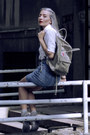 Silver-glitter-jelly-juju-shoes-heather-gray-kånken-fjallraven-bag