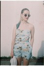 Tropical-thrifted-vintage-bodysuit-h-m-glasses-gold-h-m-earrings