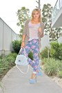 Periwinkle-dotti-jeans-white-mimco-bag-light-pink-miss-shop-top