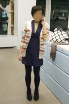 American Apparelarel dress - Silence & Noise sweater - Express tights - Y-3 shoe