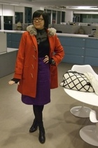 Jcrew coat - Hugo Boss&m sweater - banana republicpublic skirt - Club Monaco blo