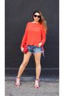 Ruby-red-leather-prada-bag-toms-sunglasses-brick-red-topshop-heels