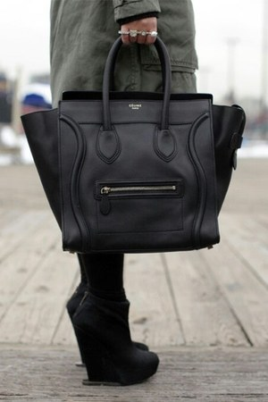 leather bag Celine bag
