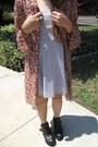 Tawny-floral-cardigan-black-platform-buckle-ebay-boots